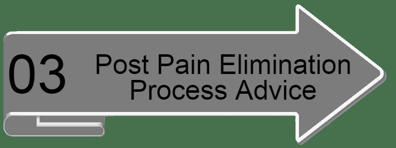 Post Pain Elimination Process Advice new